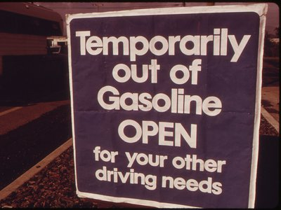 The oil crisis affected everything from home heating to business costs. But the impact was most obvious on the roads.