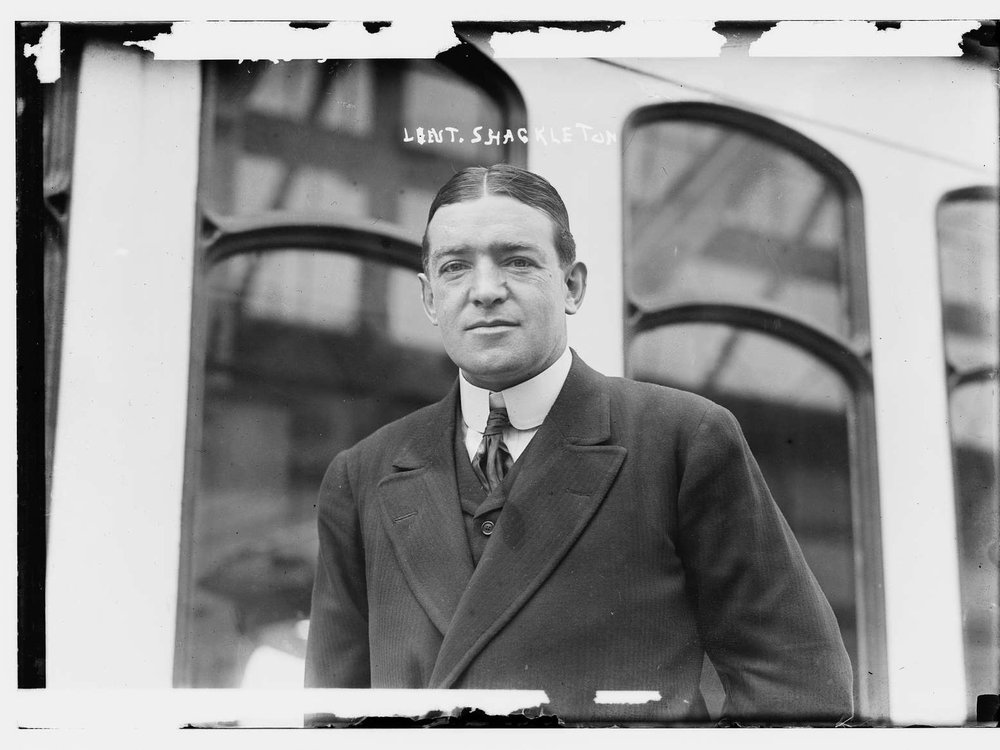 Polar explorer Ernest Shackleton