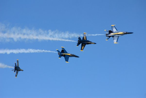 The Twists and Turns of the Blue Angels thumbnail