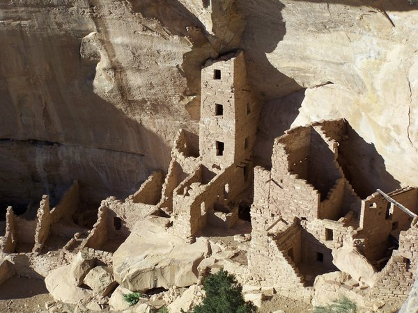 Square Tower House in Mesa Verde thumbnail
