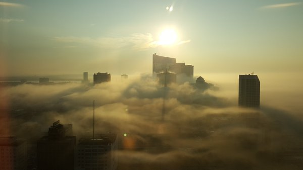 Atlantic City early morning fog thumbnail