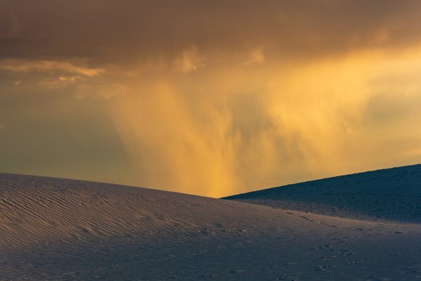Sunset Rain in White Sands thumbnail