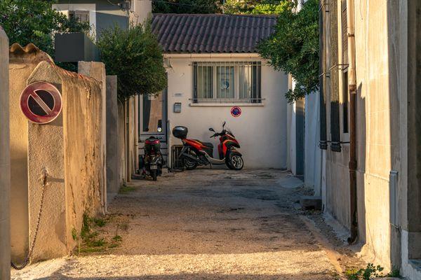 In Marseilles. A Yard thumbnail