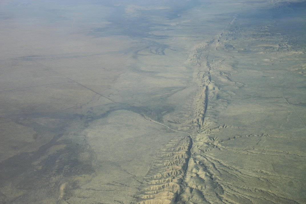 Pulling Water Out of the Ground May Lead to Quakes on the San Andreas Fault