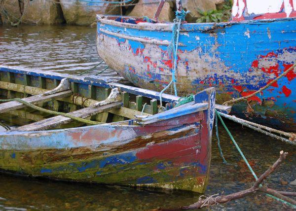 Abandonded fishing boats thumbnail