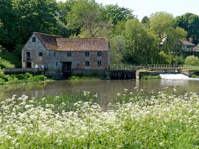 The Sturminster Newton Mill has stood on the banks of the River Stour in Dorset County since 1016.