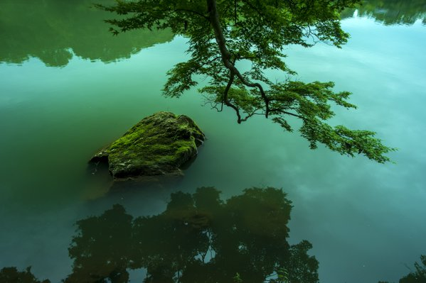 The Hozu river in Arashiyama thumbnail