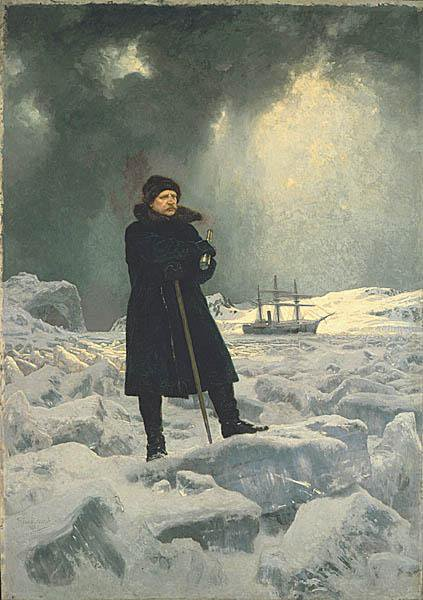 Scientist and explorer A. E. Nordenskiöld first navigated the Northeast Passage in 1878.