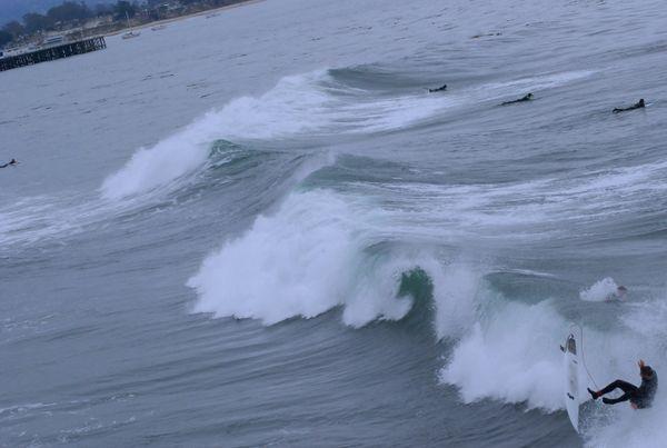Surfer tumbling thumbnail