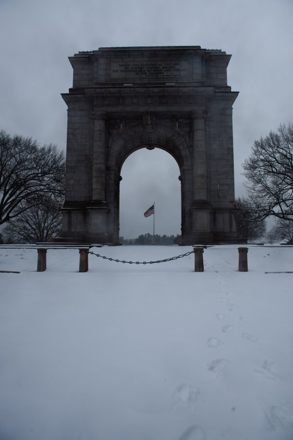 The Arch of Valley Forge National Park thumbnail