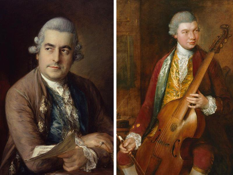 Newly Discovered Gainsborough Portrait Reveals Likeness of Overlooked Composer