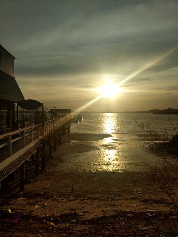 Sunset at Port Washington, New York thumbnail