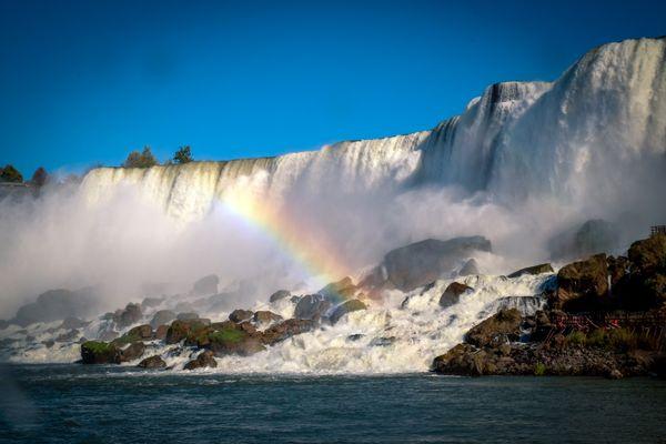 Rainbow at Niagara Falls thumbnail