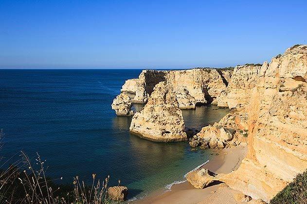 Algarve Portugal rocky coast