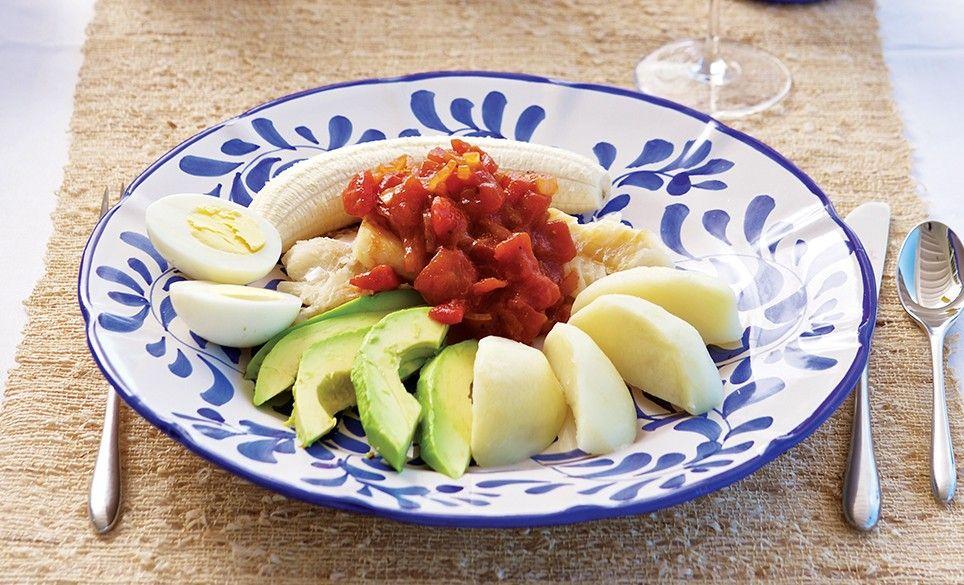 Shrimp on a dish