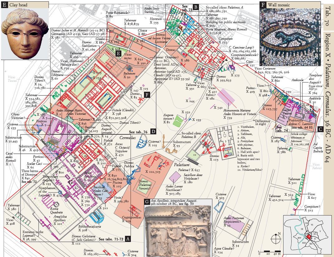 How Archaeologists Crammed 1500 Years of Roman History Into One Map