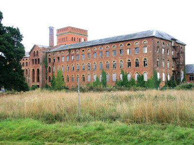 Tonedall Mills, once a large textile mill, is listed as an at-risk property in the 'Up My Street' catalogue.