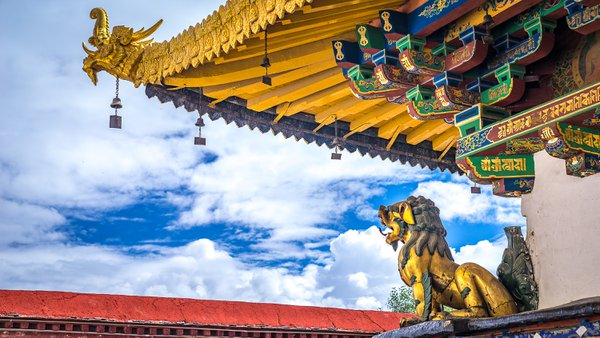 Gold Lion Jokhang Temple thumbnail