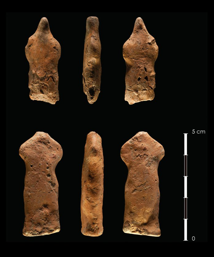 Do These 10,000-Year-Old Flint Artifacts Depict Human Figures?