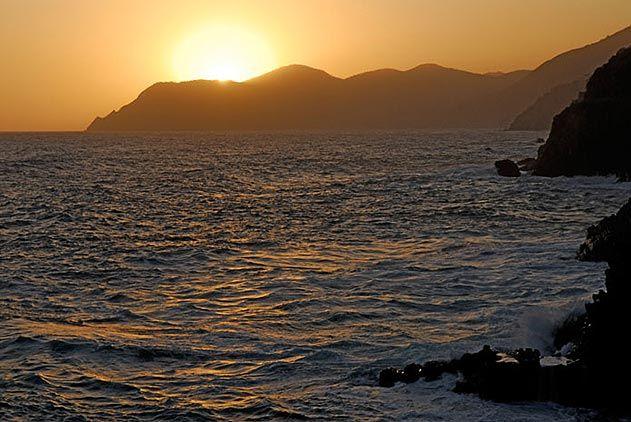 Mediterranean Sea Cinque Terre Italy