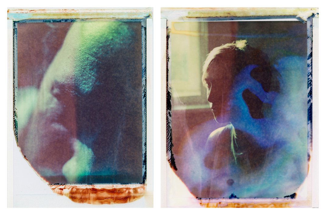 Start With a Polaroid, Then Add Disinfectant. Here's the Result