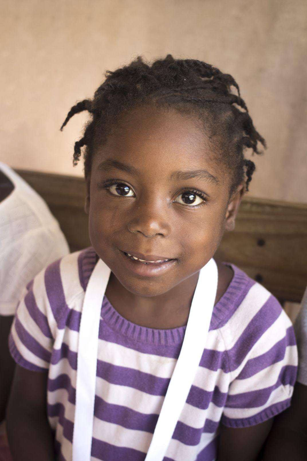 Young Haitian Girl | Smithsonian Photo Contest