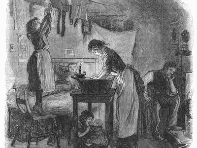 As 19th century urban living became more cramped, some women began to reinvent the domestic sphere with technology.