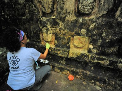 """Parts of Kulubá are already open to the public, and the INAH hopes the newly discovered palace will become accessible """"in the medium term."""""""