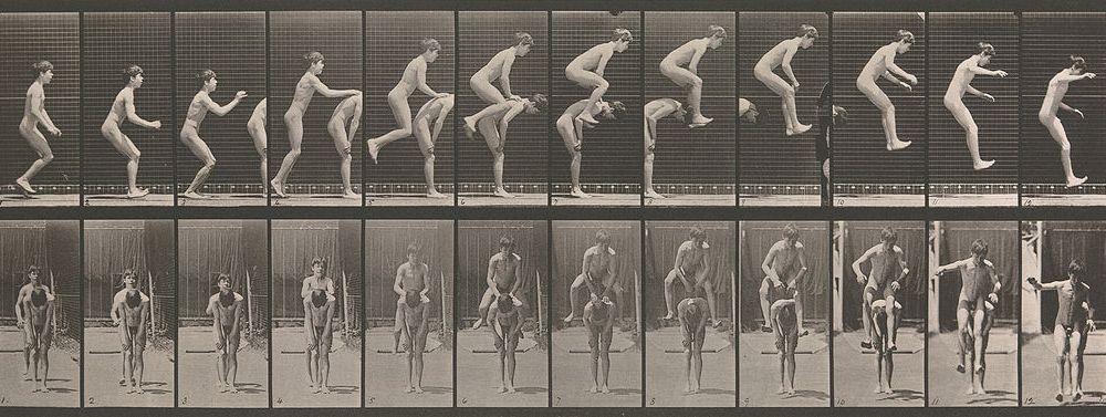 Eadweard Muybridge, Boys Playing Leapfrog