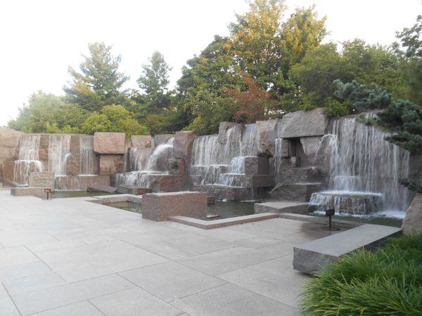 Waterfalls at FDR memorial  thumbnail