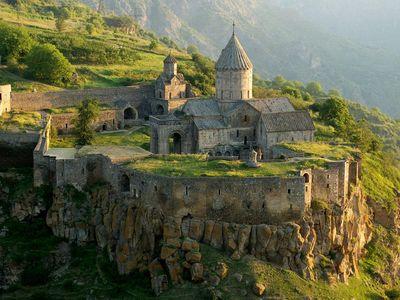 Tatev Monastery in Armenia.