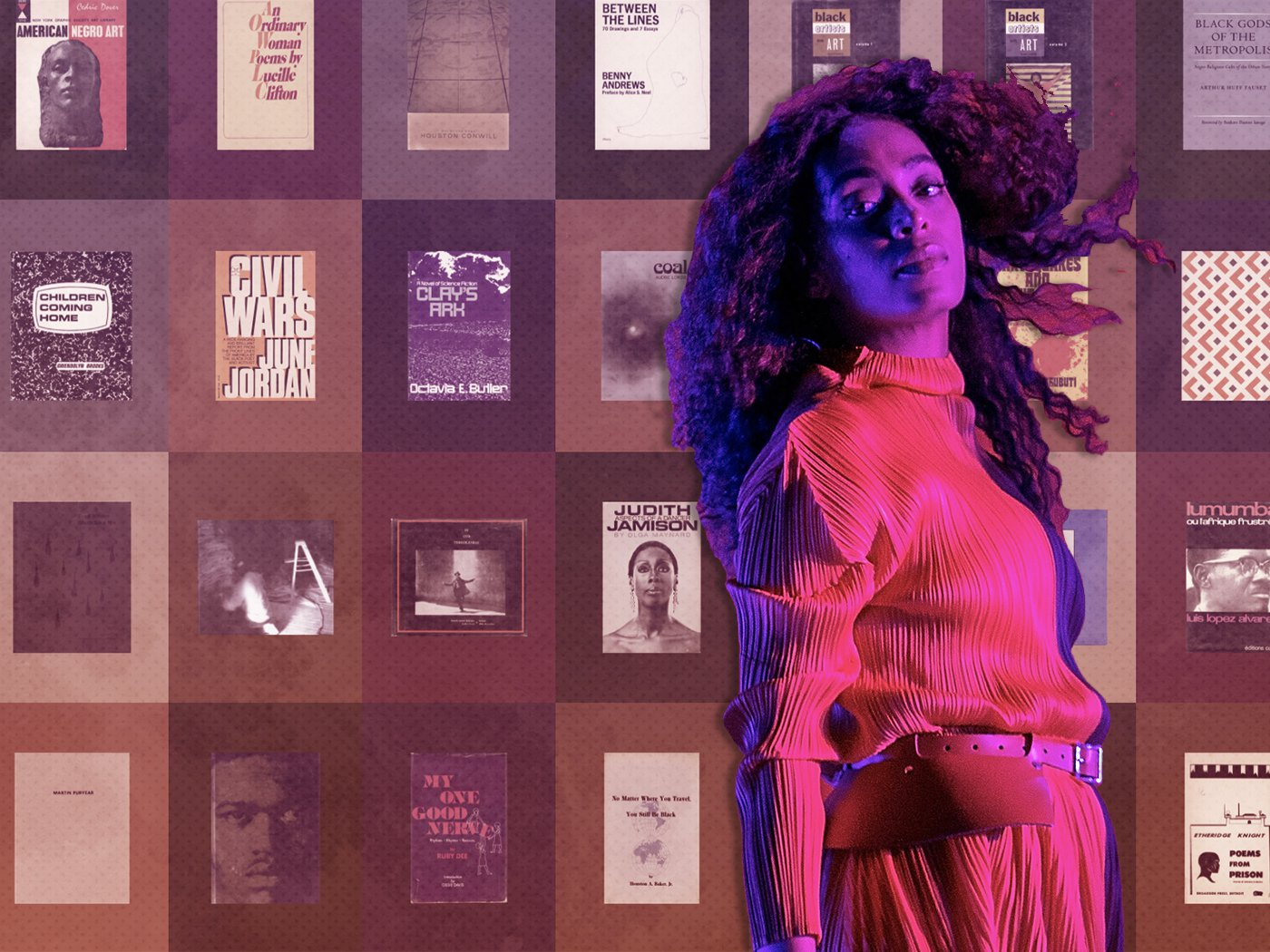 Singer and Artist Solange Debuts Free Library of Rare Books by Black Authors