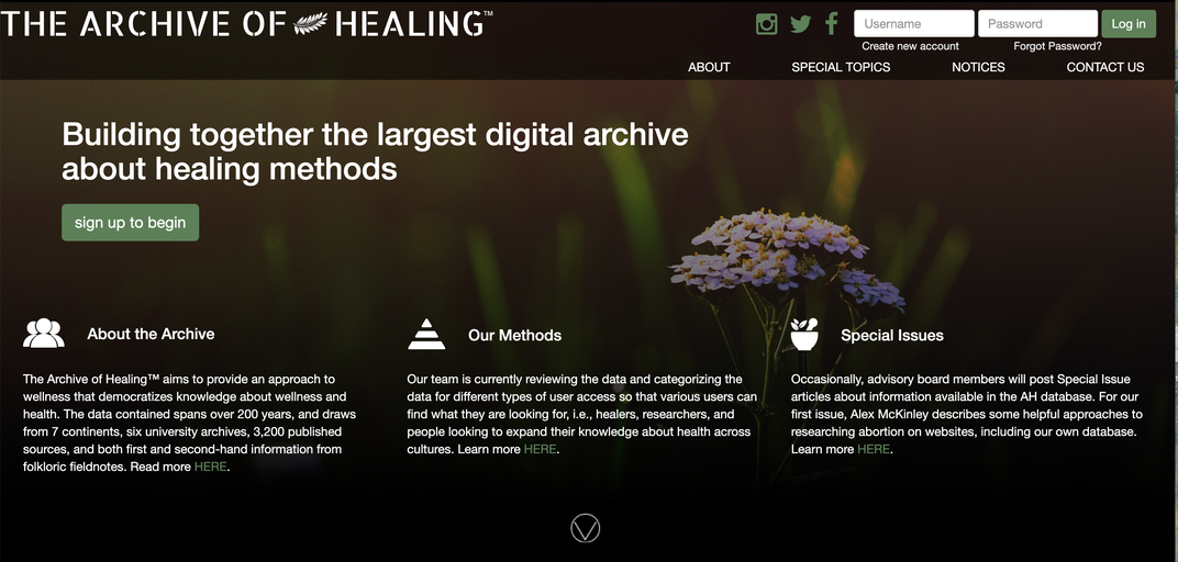 How a New Digital Archive Preserves—and Protects—Indigenous Folk Medicine
