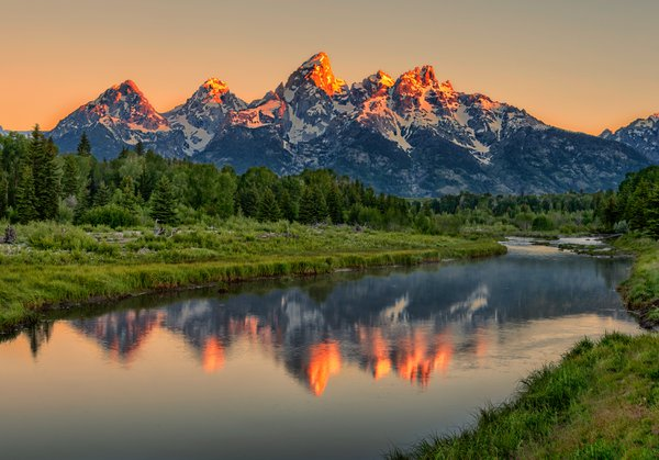 Teton Alpenglow thumbnail