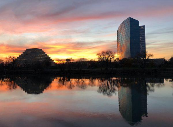 Sacramento River sunset thumbnail
