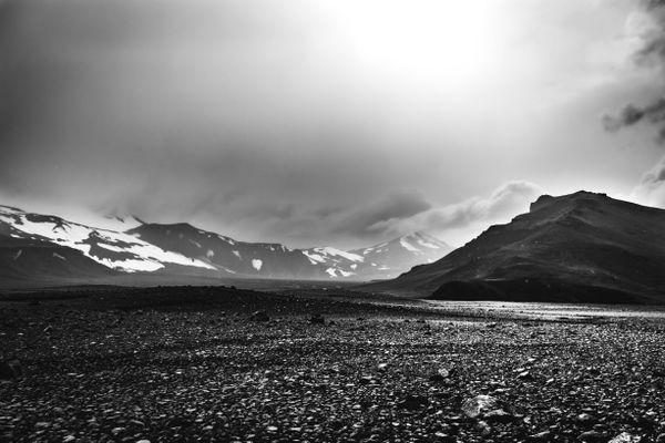 Glacial wasteland - Iceland thumbnail