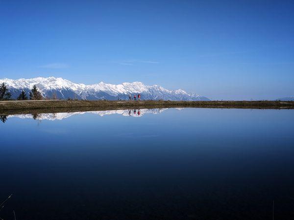 View of the Nordkette mountains. thumbnail
