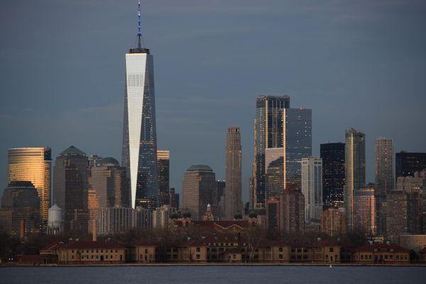 New York City and Ellis Island thumbnail
