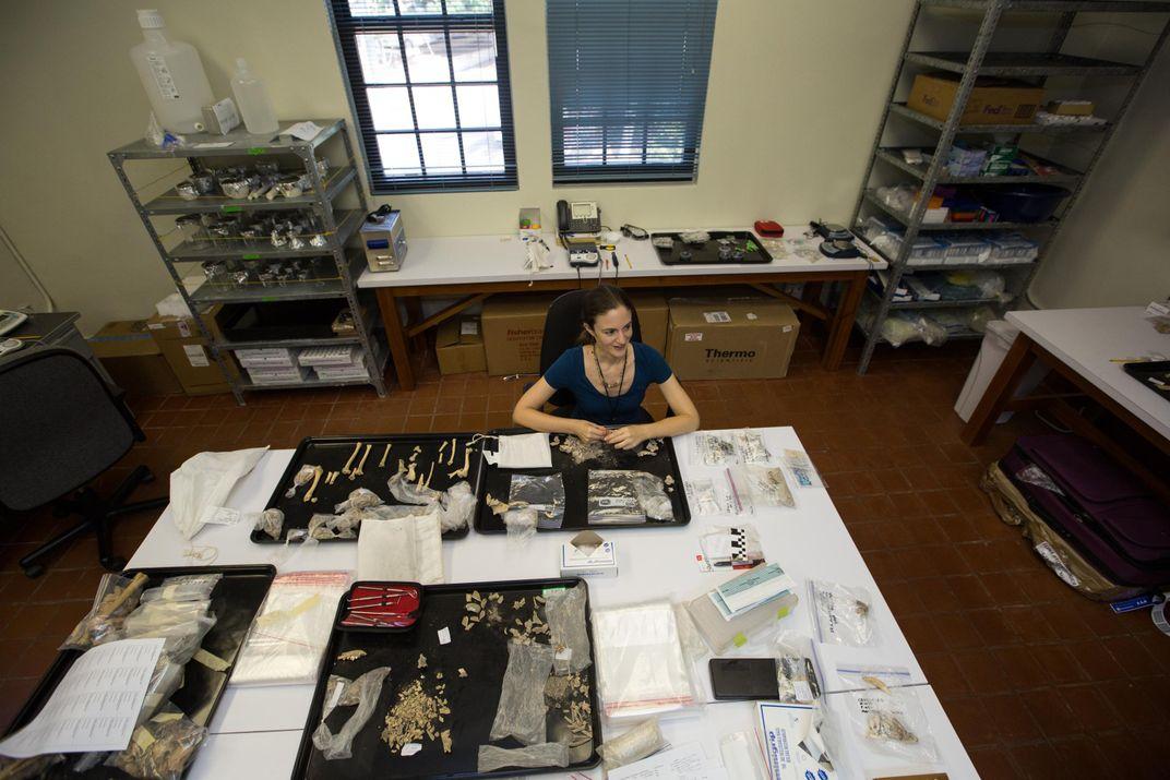 Bones Tell the Tale of a Maya Settlement