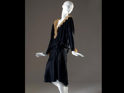A Coco Chanel Little Black Dress, released in 1926.