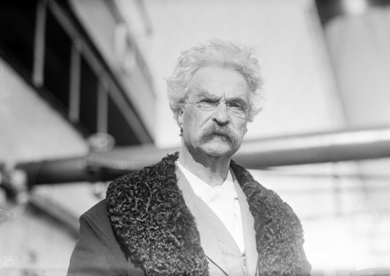 Samuel L. Clemens in 1909