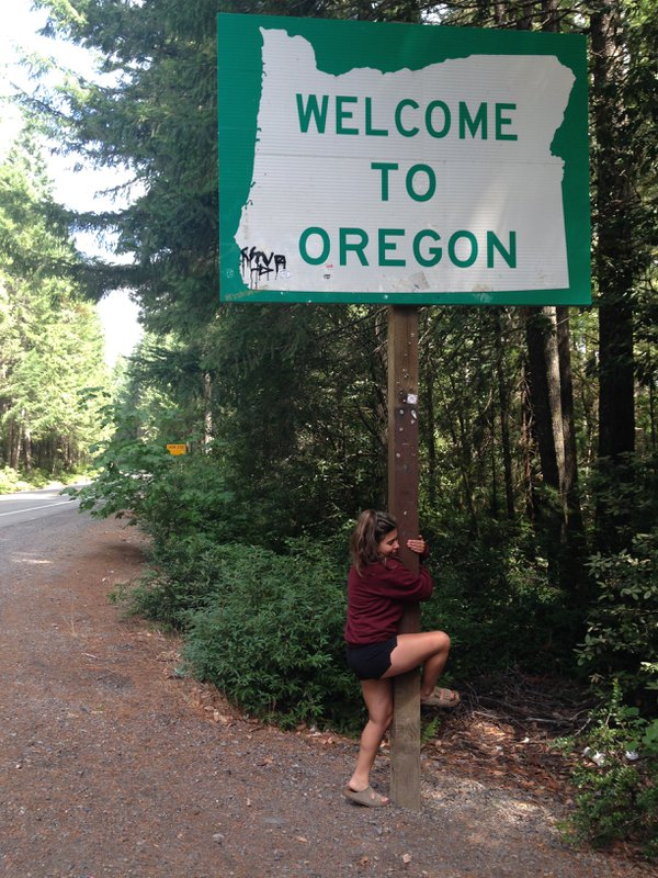 Happy to be home after crossing the boarder form California to Oregon. thumbnail