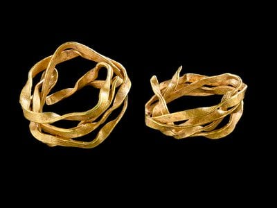 The gold ring's chemical composition suggests it originated in Cornwall, England, and likely traveled to Germany via a vast trade network.