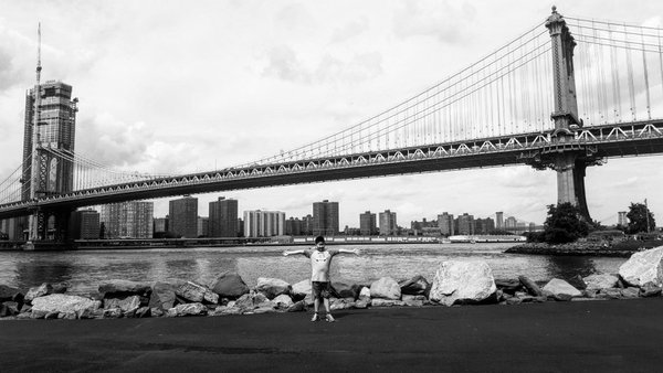 Brooklyn bridge with my baby bro thumbnail