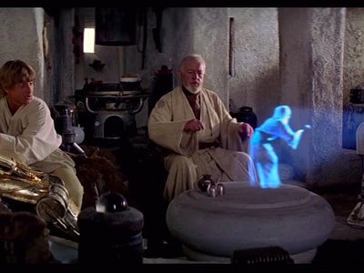 Holograms, even those not carrying secret messages, need to be preserved.