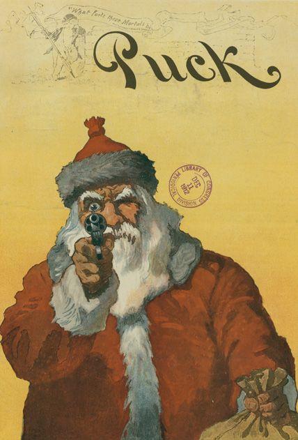 A Santa Holdup