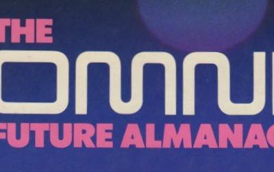 Cover of the 1982 book Omni Future Almanac