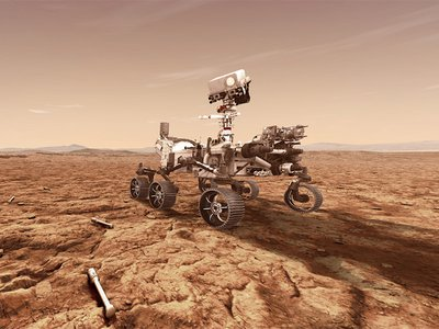 NASA's Perseverance rover will store rock and soil samples in sealed tubes on the surface of Mars.