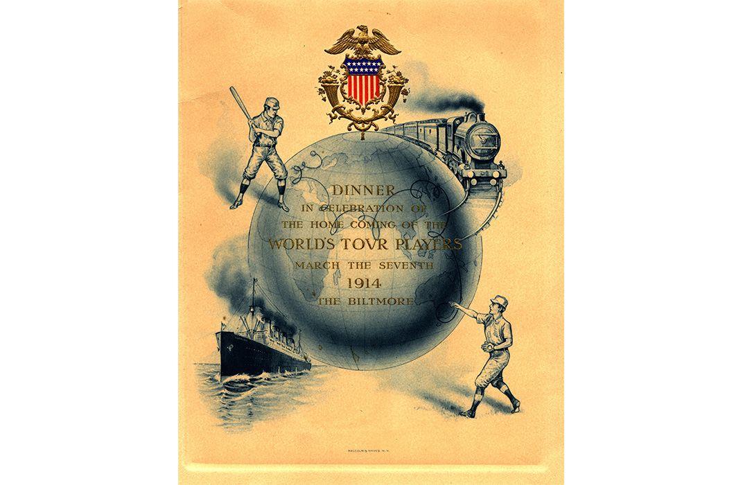 The Inside Story of Baseball's Grand World Tour of 1914