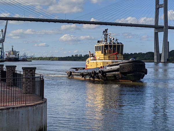 Port of Savannah tug boat thumbnail